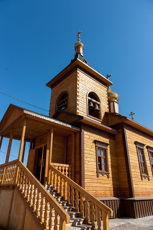 Якутск: Спасская церковь Якутского мужского монастыря