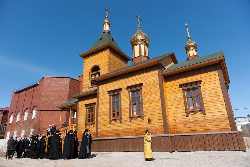 Спасская церковь Якутского мужского монастыря