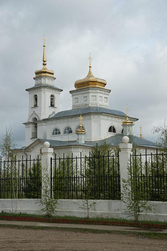 Градоякутская Николаевская церковь