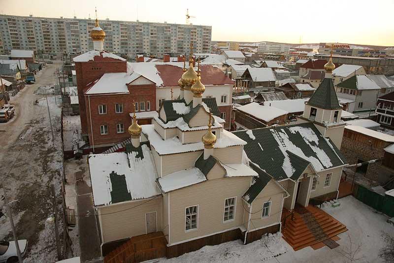 Покровский женский монастырь в Якутске