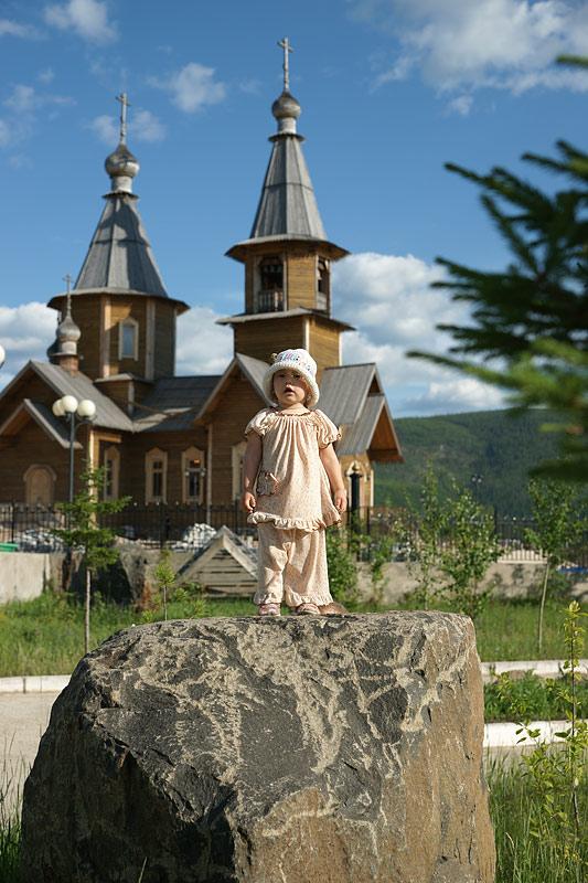 Иннокентьевский храм в г. Ленск