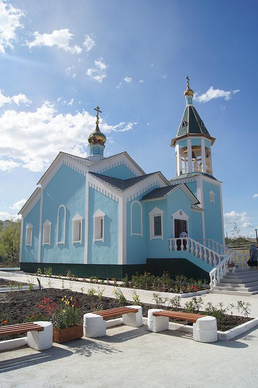 Серафимосвский храм в п. Мохсоголлох. Фото Юлии Маковейчук