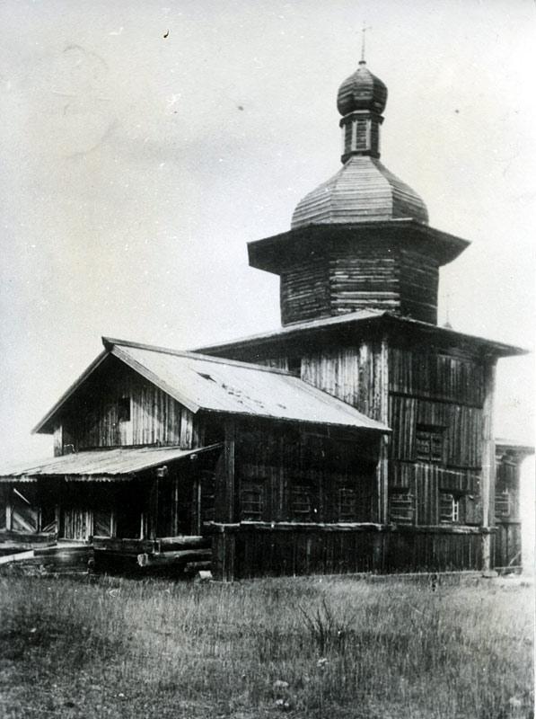 Старая деревянная Покровская церковь в с. Покровское. Фото А. Курочкина