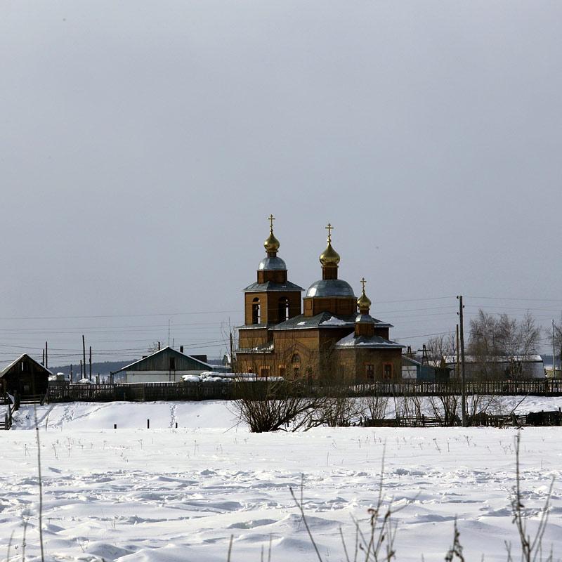 Успенский храм в с. Хатассы