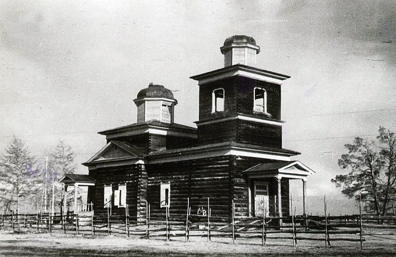 Красноярский храм  Хомустах