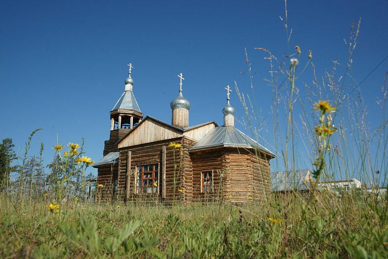 Иоанно-Предтеченский храм Намцы