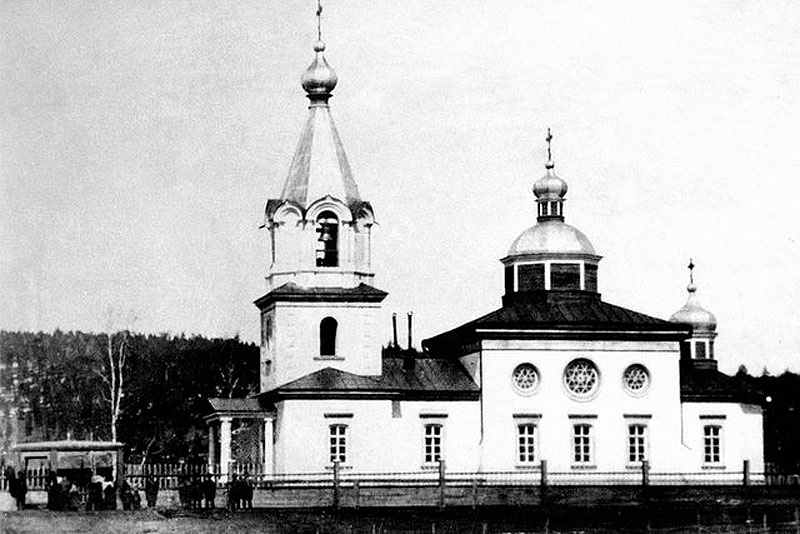 Иоанно-Предтеченский храм в с. Нерюктяинск 1