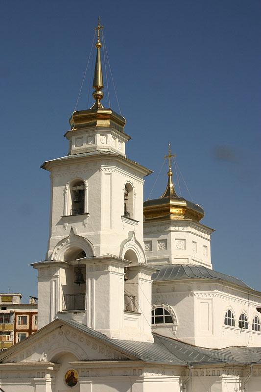 Купола градоякутского Никольского храма