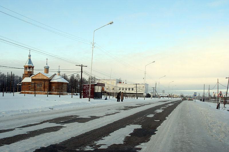 Село Намцы Иоанно-Предтеченский храм