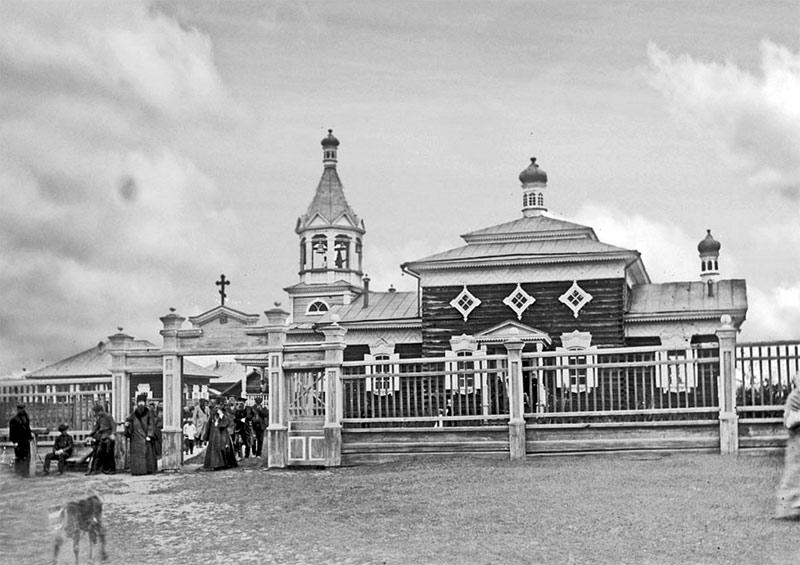 Никольский храм в с. Мухтуйском
