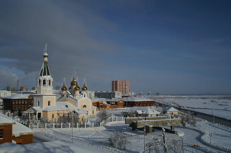 Преображенский собор г. Якутска