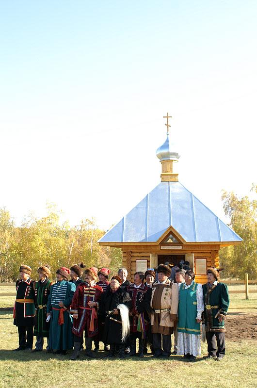 Троицкая часовня в селе Воин