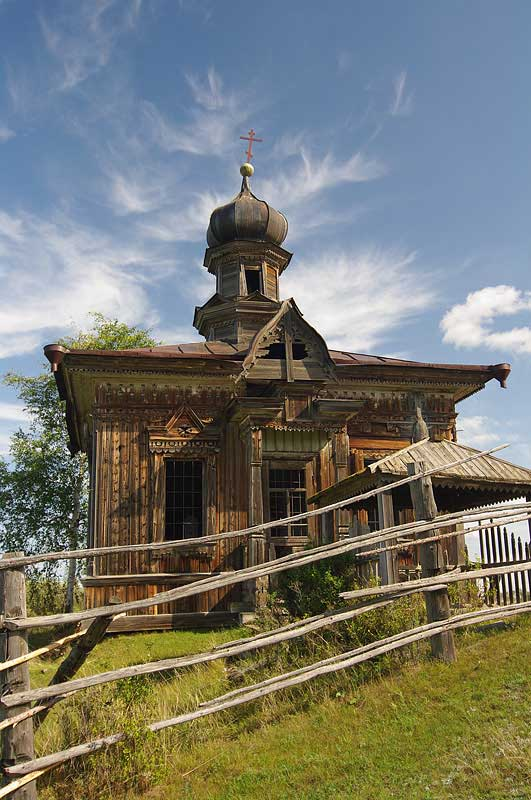 Старообрядческая часовня в с. Павловск