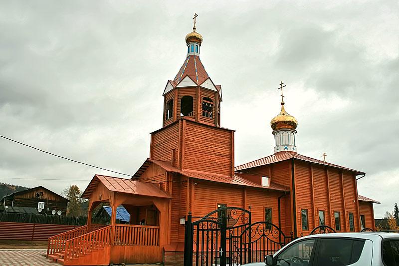 Свято_Пантелеимоновский храм в п. Пеледуй