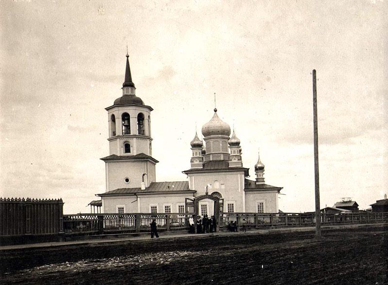 Иоанно-Предтеченский храм на Большой ул. г. Якутска