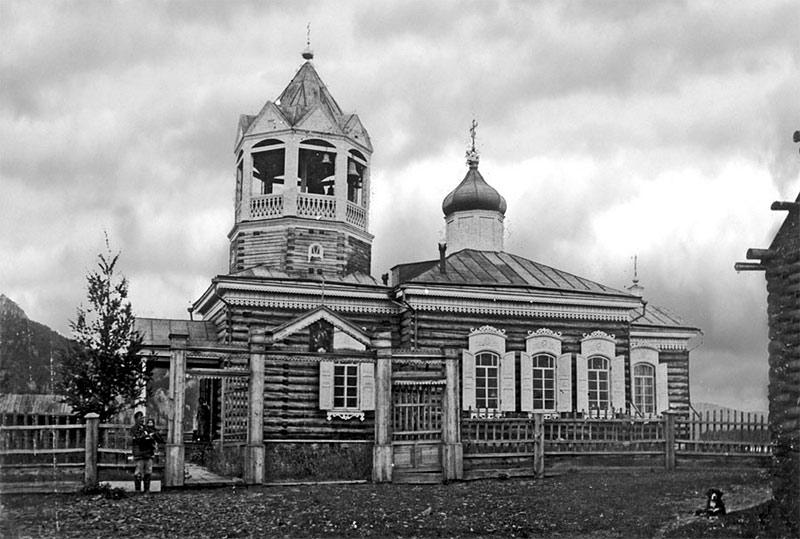 Приписной Никольский храм в с. Больше-Пеледуйском
