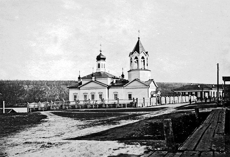 Спасский храм в с. Витим