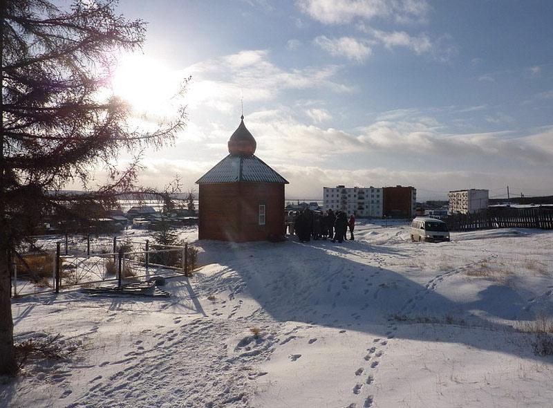 Казанская часовня в с. Тёхтюр