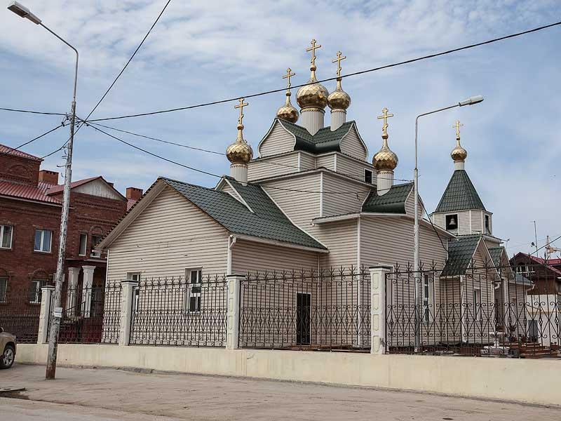 Якутск: Храм Покрова Пресвятой Богородицы